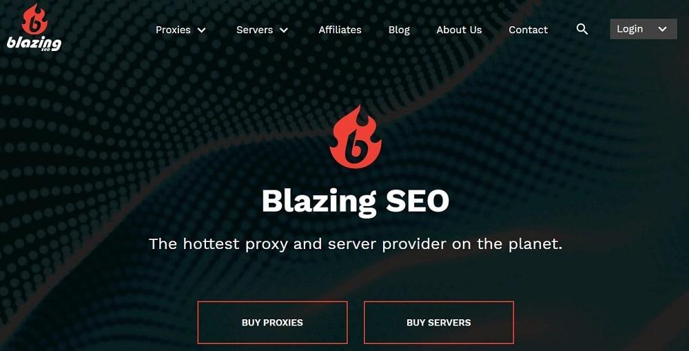 Blazingseo Home Page