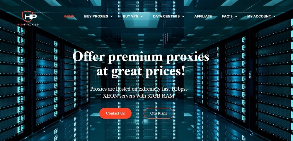 HighProxies Home Page