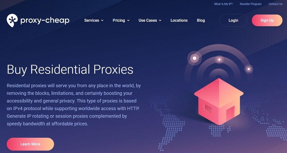 Proxy Cheap Home Page