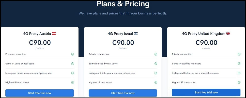 The Social Proxy Pricing