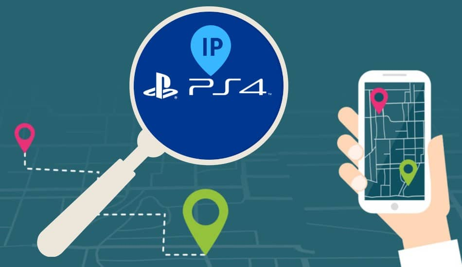 Find IP on PS4