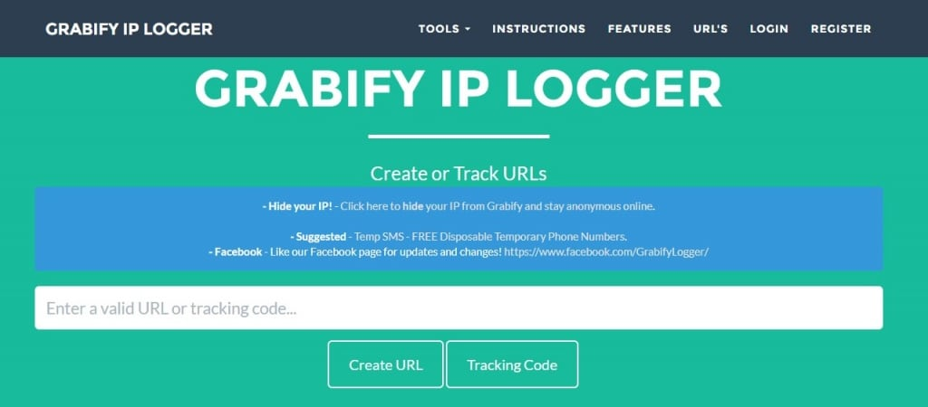 Grabify ip loggers