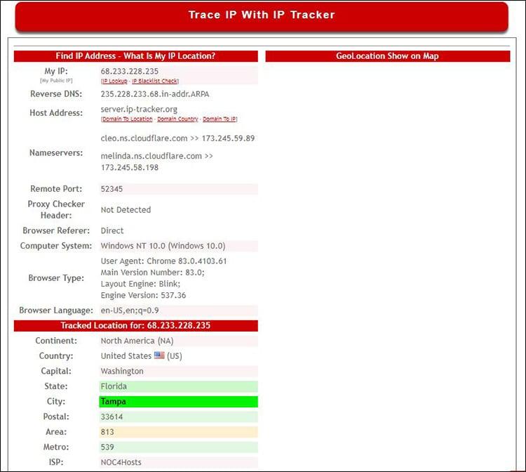 ip tracker ip details