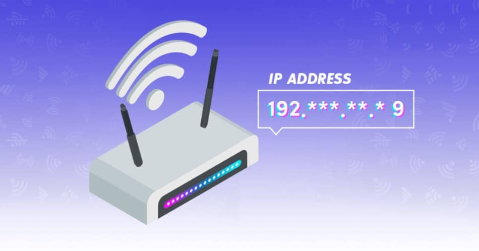 router ip address